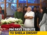 Video : PM Modi Pays Tribute To Sheila Dikshit At Her Delhi Home