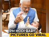 Video : PM Modi Plays With A Baby In Parliament, Shares Photos On Instagram