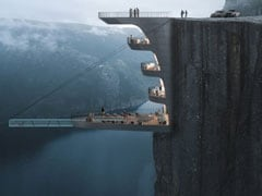 Scenic Or Scary? This Insane Hotel Will Hang Off A 1,981-Foot Cliff