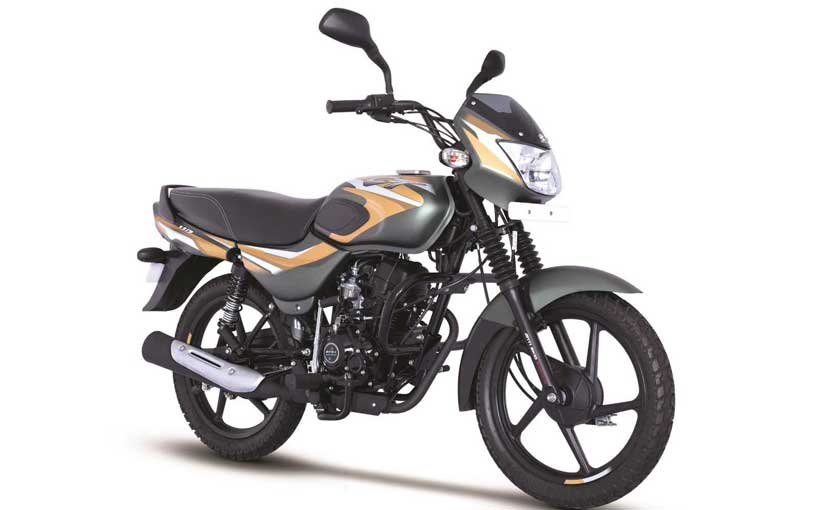 The Bajaj CT110 has been designed to tackle rough terrains with ease