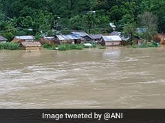 Flood In Mizoram Claims 5 Lives, 1,000 Families Affected