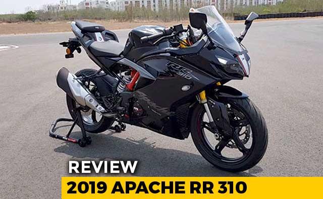 Video : 2019 TVS Apache RR 310 Review