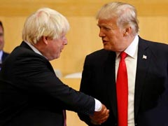 "Boris Johnson To ""Straighten Out"" Theresa May's Brexit ""Bad Job"": Trump"