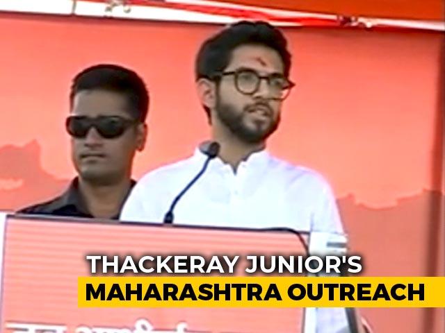 Video : Aditya Thackeray's 4,000-Km Maharashtra Tour With Chief Ministerial Twist