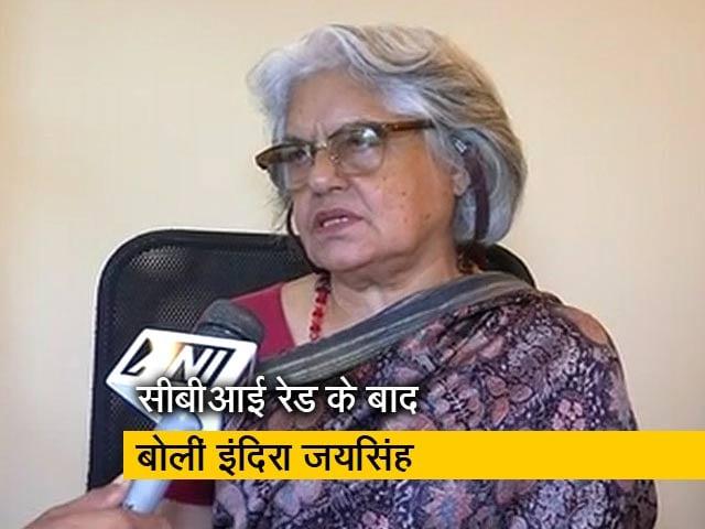 Videos : मुझे और मेरे पति आनंद ग्रोवर को टारगेट किया गया है: इंदिरा जयसिंह