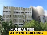 Video : Fire At MTNL Building In Mumbai's Bandra, Around 100 Trapped On Terrace