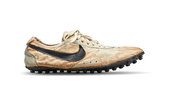 Nike's 'Rarest' Pair Of Sneakers 'Moon Shoe' Sells For Record $437,500