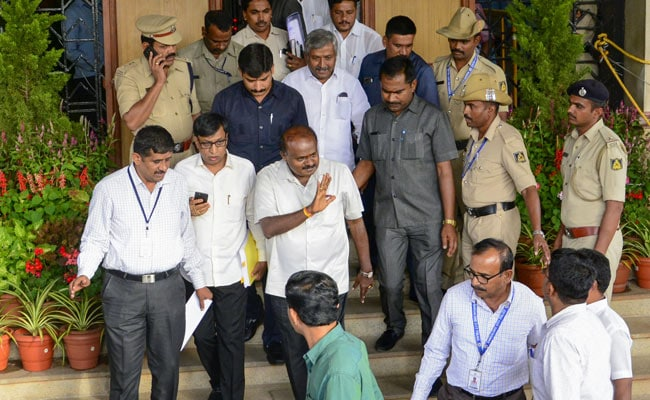 """Ready For Any Probe"": HD Kumaraswamy On Alleged Phone Tapping Case"