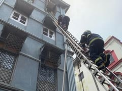 Fire At 4-Storey Building Near Taj Mahal Palace Hotel In South Mumbai