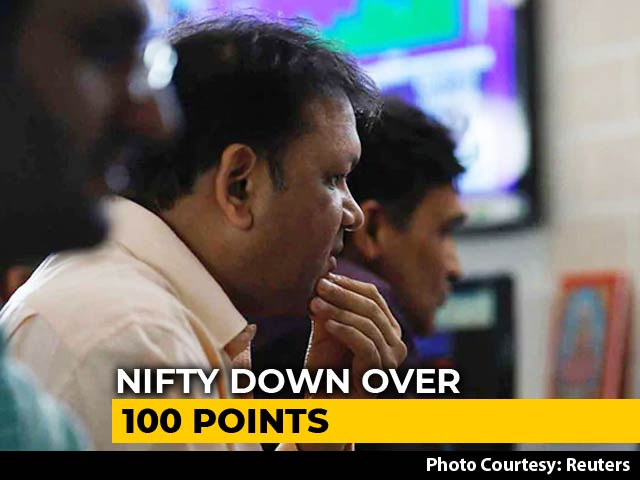 Video : Sensex Plunges Over 400 Points, Nifty Slides Below 11,700