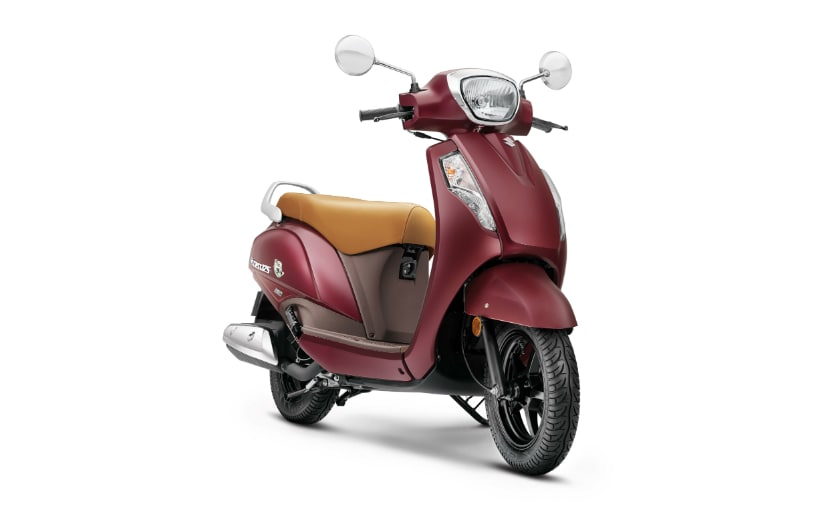 Refreshed Suzuki Access 125 SE launched in a new colour option