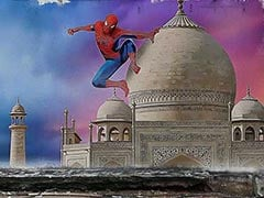 Spider-Man Swings From Taj Mahal To India Gate In Mumbai Wall Art