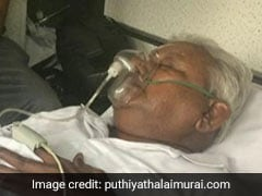 Oxygen Mask On, Saravana Bhavan Founder Surrendered To Serve Life Term