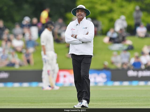 ICC Has Removed The Only Indian Umpire Sundaram Ravi From Elite Panel Of Umpires