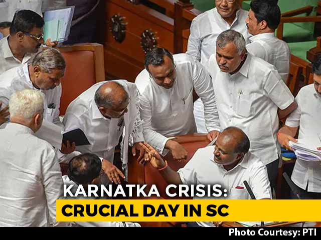 Video : In Karnataka Coalition Chaos, An Important Supreme Court Date Today