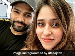 Watch: Rohit Sharma Returns To Mumbai With Wife, Daughter After India