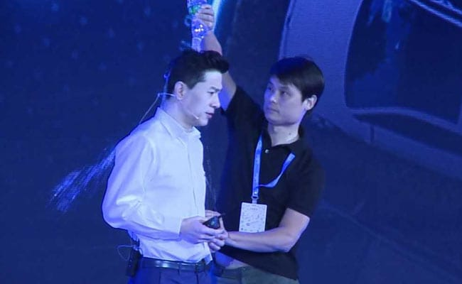 Man Who Poured Water On Baidu CEO During Speech Arrested