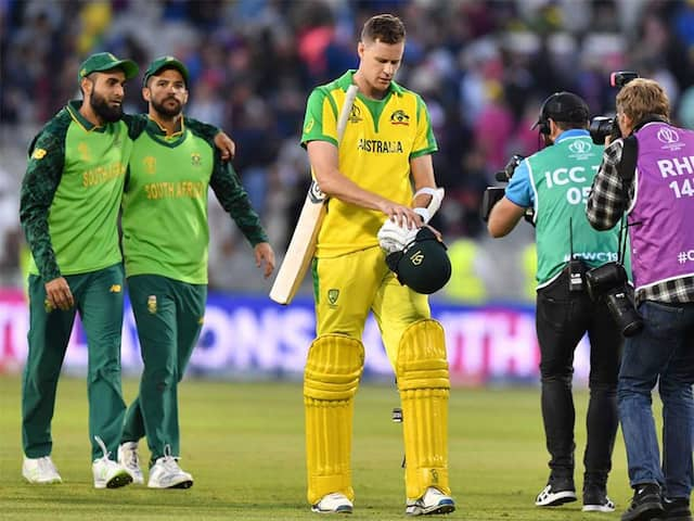 """Australia Lose To South Africa, Face England In """"Blockbuster"""" Semi-Final"""