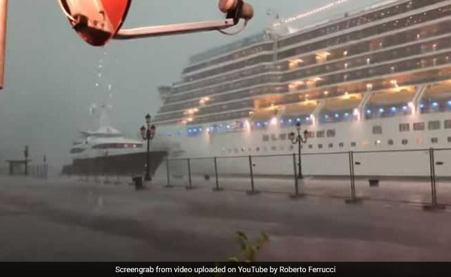Cruise ship in Venice near-miss just weeks after dock incident