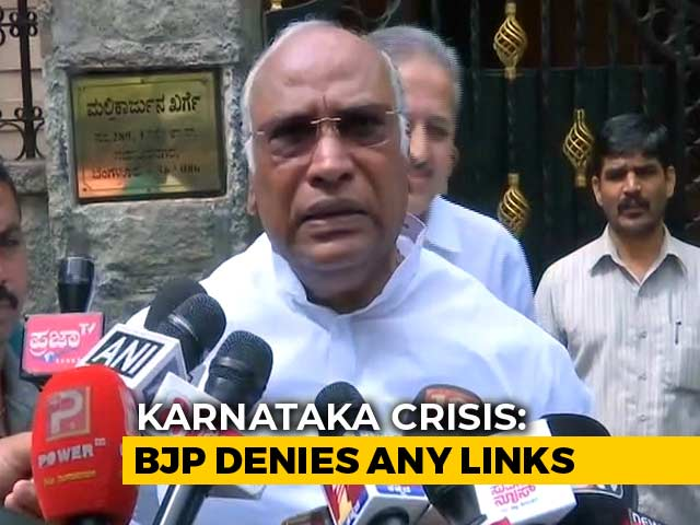 "Video : ""Attempt To Divide Us"": Mallikarjun Kharge Denies Top Post Rumours"