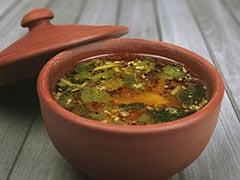 Immunity: Make This Lemon-Ginger Rasam Recipe For A Soul-Satisfying Treat (Recipe Video Inside)