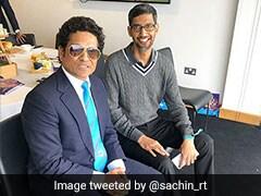 Sachin Tendulkar Shares Picture With Sundar Pichai, Fans Respond With Hilarious Comments