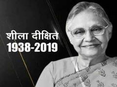 Live Updates: दिल्ली की पूर्व मुख्यमंत्री शीला दीक्षित का आज दोपहर निगम बोध घाट पर होगा अंतिम संस्कार