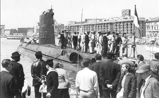French submarine that disappeared with 52 sailors on board in 1968 found