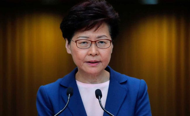'Serious' Hong Kong Violence In Government Control, Says Leader Carrie Lam