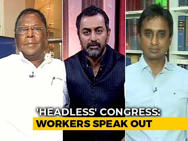 Video : Congress Crisis: Ground Reality