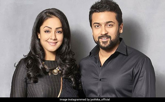 'Proud' Suriya Launches Poster Of Wife Jyothika's Next Film Pon Magal Vandhal