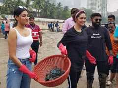 Celebrities, Citizens Team Up For Massive Cleanliness Drive In Mumbai