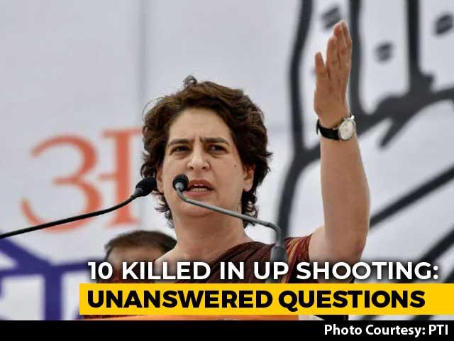 Video : Yogi Adityanath, Priyanka Gandhi Vadra Exchange Digs Over UP Killings