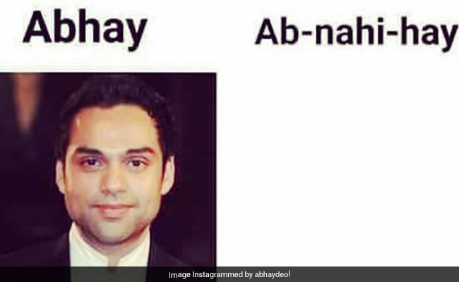 Abhay Deol Shares ROFL Meme On Why He's Often M.I.A
