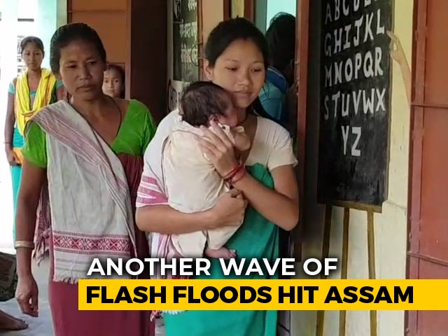 Video: As More Floods Hit Assam, Infant Girl's Home Inundated Twice In Fortnight