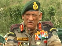 """A Bloodier Nose Next Time"": Army Chief To Pak On Kargil Anniversary"