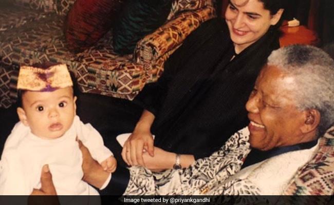Priyanka Gandhi Vadra Shares What Nelson Mandela Told Her In Tribute