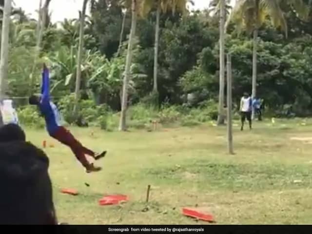 Watch: Rajasthan Royals Post Video Of Stunning Relay Catch, Ask Professional Cricketers To Take Note