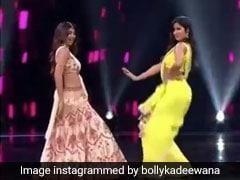 सलमान खान को डांस से रिझा रही थीं कैटरीना और शिल्पा, तभी भाईजान को आ गई नींद...देखें Video