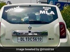 "Delhi Speaker Threatens To Sue Akali Lawmaker Over ""Son of MLA"" Sticker"