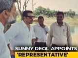 "Video : ""Unfortunate,"" Says Sunny Deol On Row Over Appointing Representative"
