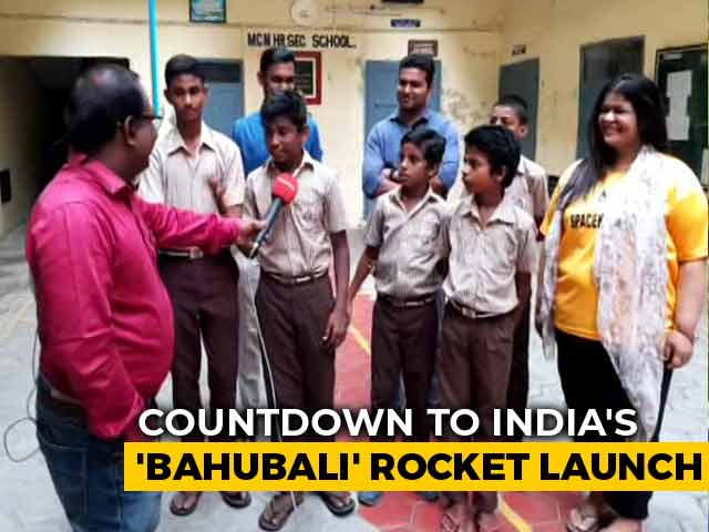 Video : Chennai School Students To See Chandrayaan 2 Launch From Launch Site
