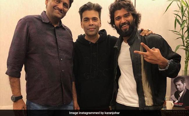 विजय देवराकोंडा की फिल्म 'डियर कॉमरेड' का बनेगा हिंदी रिमेक, करण जौहर ने किया ऐलान