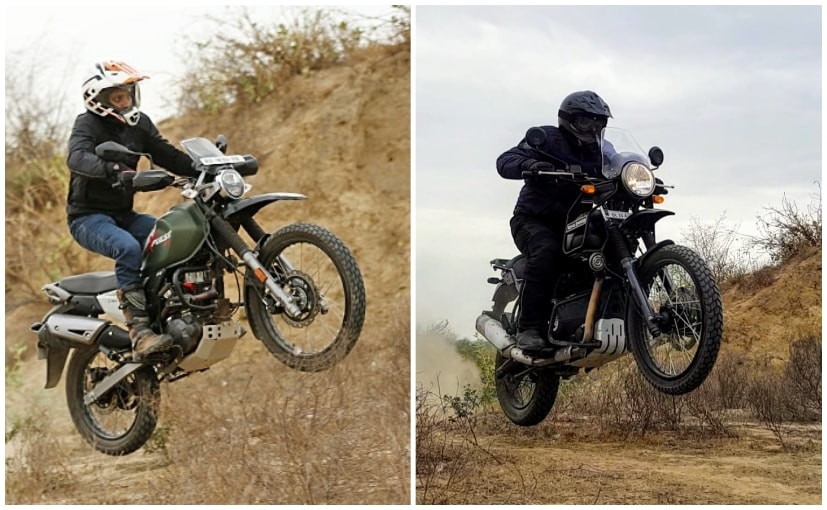 Light, solid and made for fun! The Royal Enfield Himalayan & the Hero XPulse 200 love getting dirty