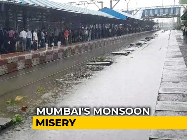 Video : Since Sunday, Mumbai Got Highest Rainfall Over 2-Day Period In A Decade