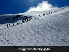 5 Pilgrims On Way To Himachal Shrine Injured As Glacier Collapses