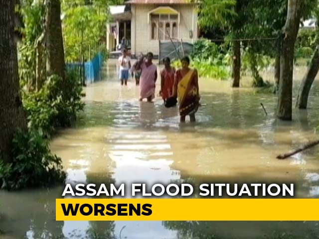 Video : Assam Floods: 75 People Killed, More Than 34 Lakh Affected