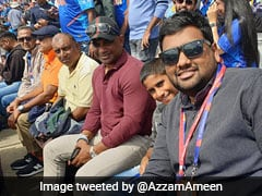 Banned By ICC, Sanath Jayasuriya Watches India vs Sri Lanka Game From Stands