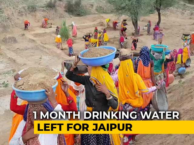 Video : Jaipur Risks Running Out Of Water In A Month If It Doesn't Rain