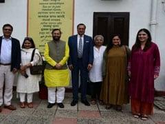 News Broadcasters Association's Board Members Meet Prakash Javadekar